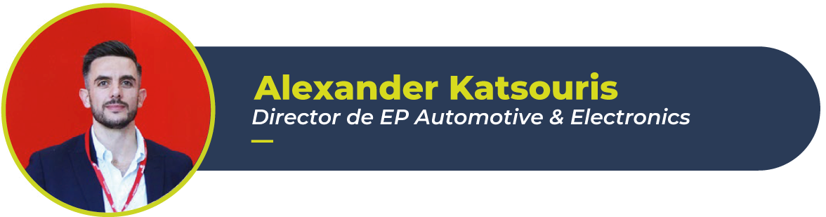 Foto de Alexander Katsouris, director de EP Automotive & electronics