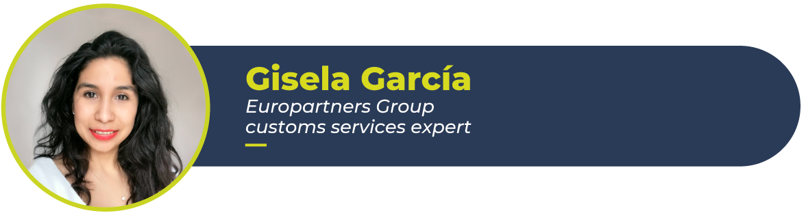 Gisela García Europartners Group customs service expert