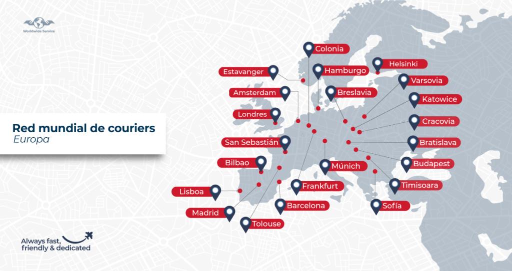 Lista de ciudades en Europa